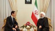 روحانی به بشار اسد پیام داد
