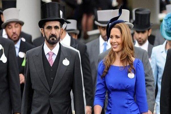 درخواست همسرحاکم دبی در دادگاه انگلیس چه بود؟