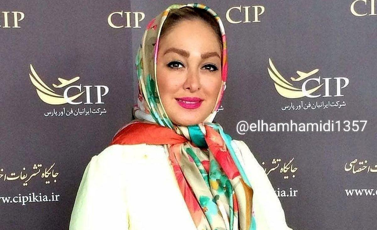 علت طلاق الهام حمیدی از همسر اولش فاش شد +عکس همسر دومش