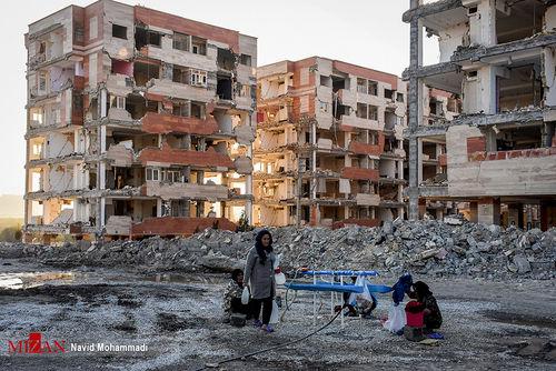 گزارش تصویری/ چهل روز پس از زلزله کرمانشاه