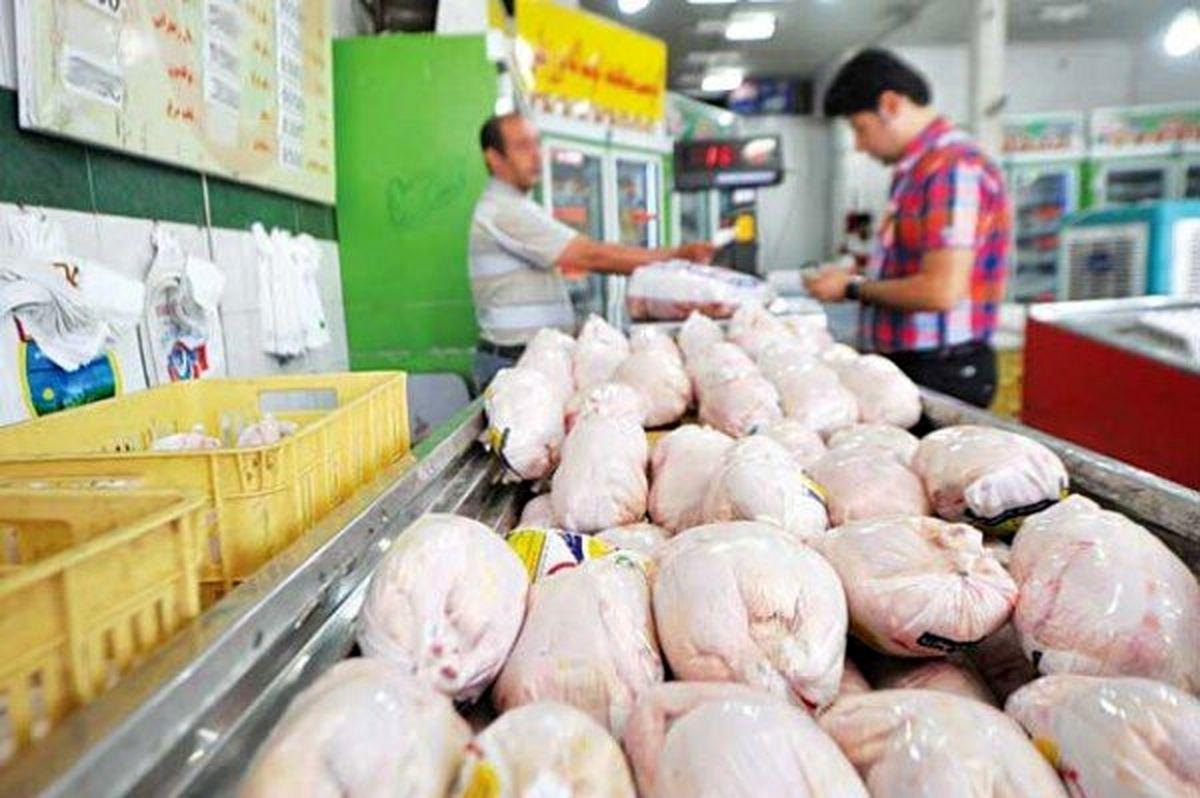 قیمت مرغ سر به فلک می کشد؟
