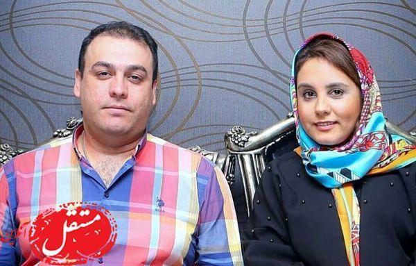 این هم تصویری از دختر و داماد اکبر عبدی +عکس