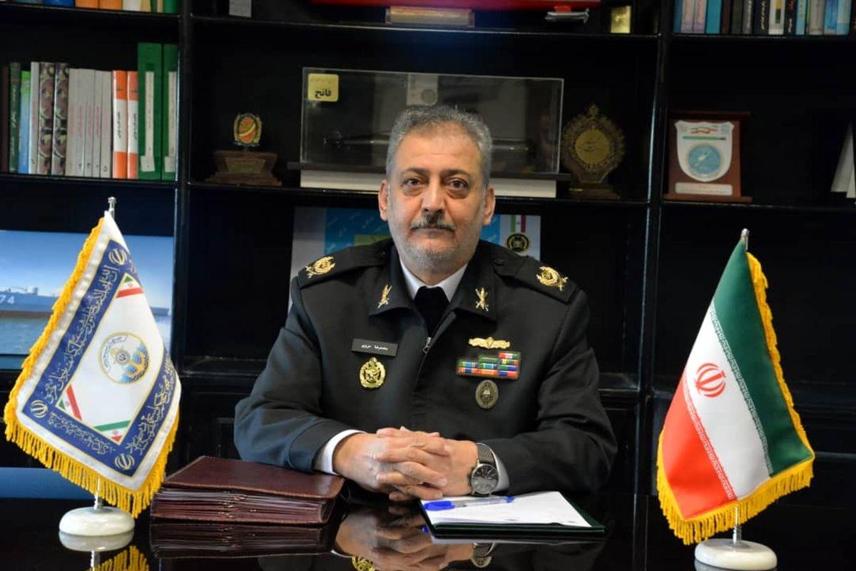 معاون هماهنگ کننده جدید نیروی دریایی ارتش منصوب شد