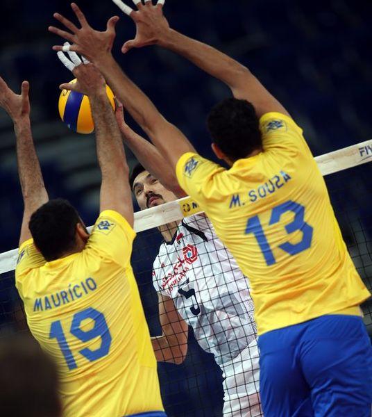 جوانان والیبال ایران با وجود باخت مقابل قهرمان المپیک درخشیدند