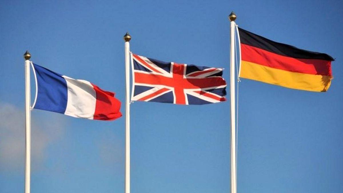 بیانیه تروئیکای اروپایی در واکنش به ادعای پوچ آمریکا