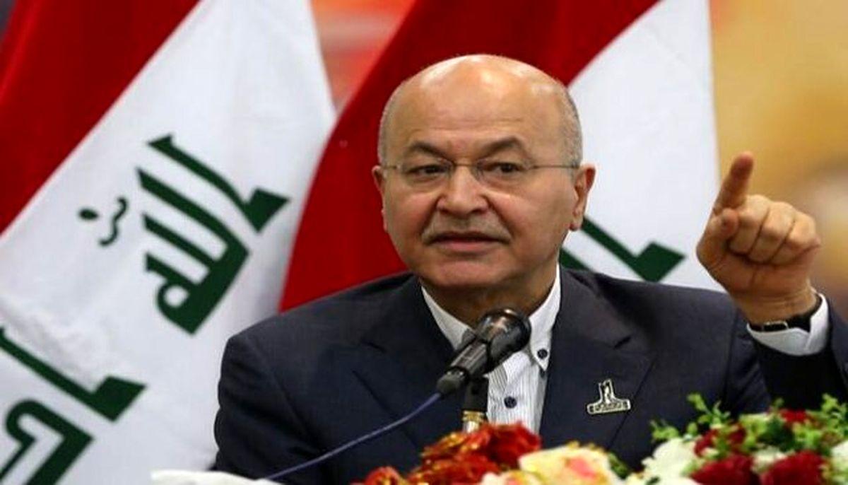 ابراز امیدواری رئیسجمهور عراق نسبت به از سرگیری روابط تهران-ریاض