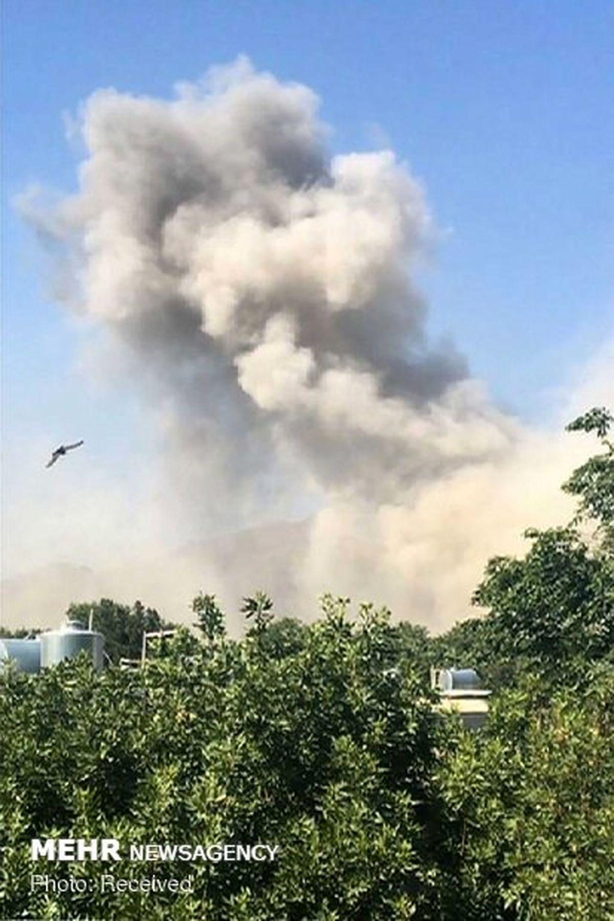 وقوع انفجارهای پیدرپی در انبار مهمات وزارت دفاع روسیه