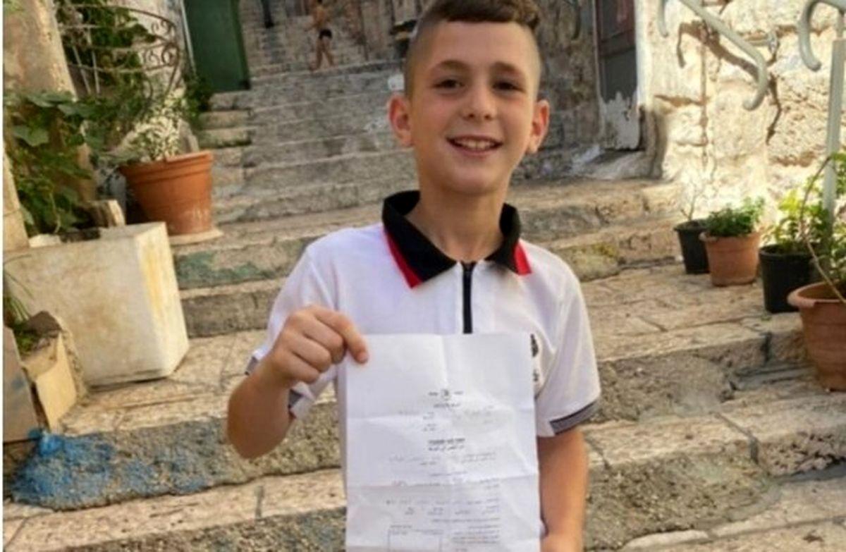 احضار کودک فلسطینی زیر ۹ سال برای بازجویی