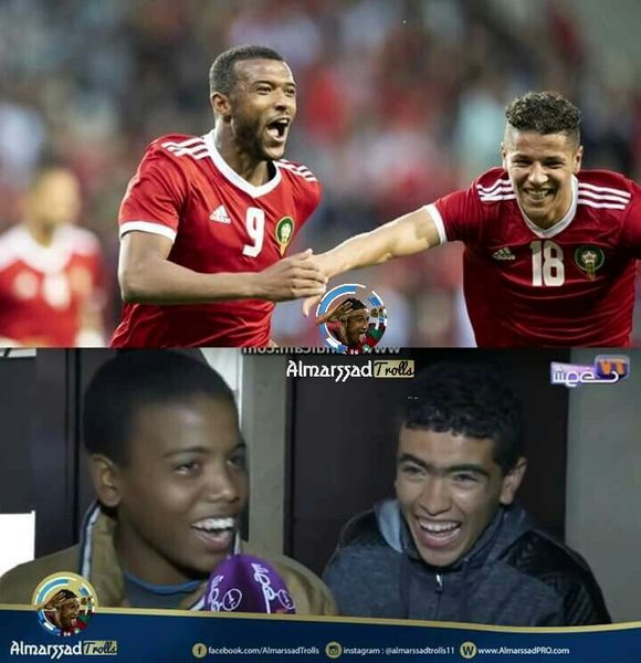 دو تصویر جذاب از بازی تدارکاتی دیشب مراکش(عکس)