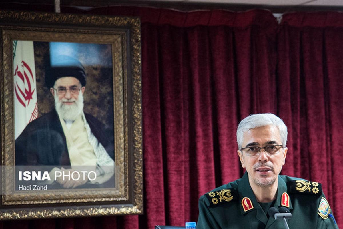 پیام سرلشکر باقری به همتایان خود در کشورهای اسلامی