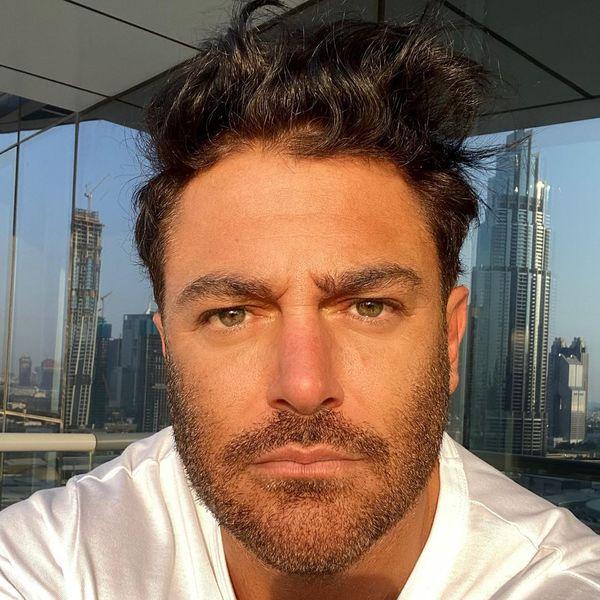 محمدرضا گلزار در دبی قرنطینه شده است + عکس