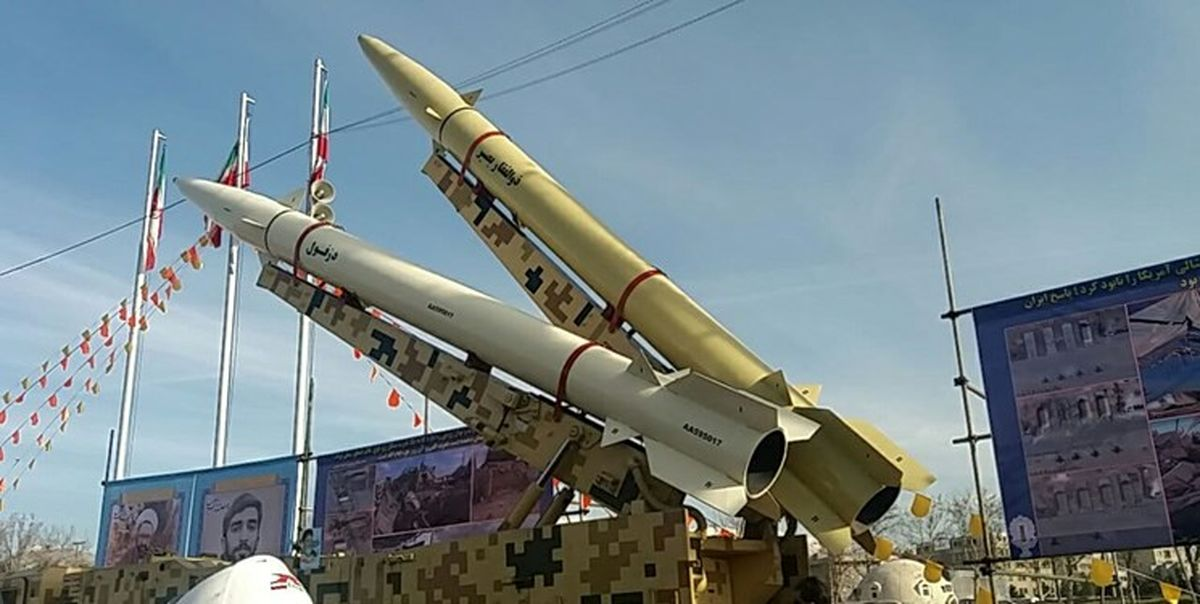 موشکهای بالستیک سپاه به راهپیمایی ۲۲ بهمن آمدند