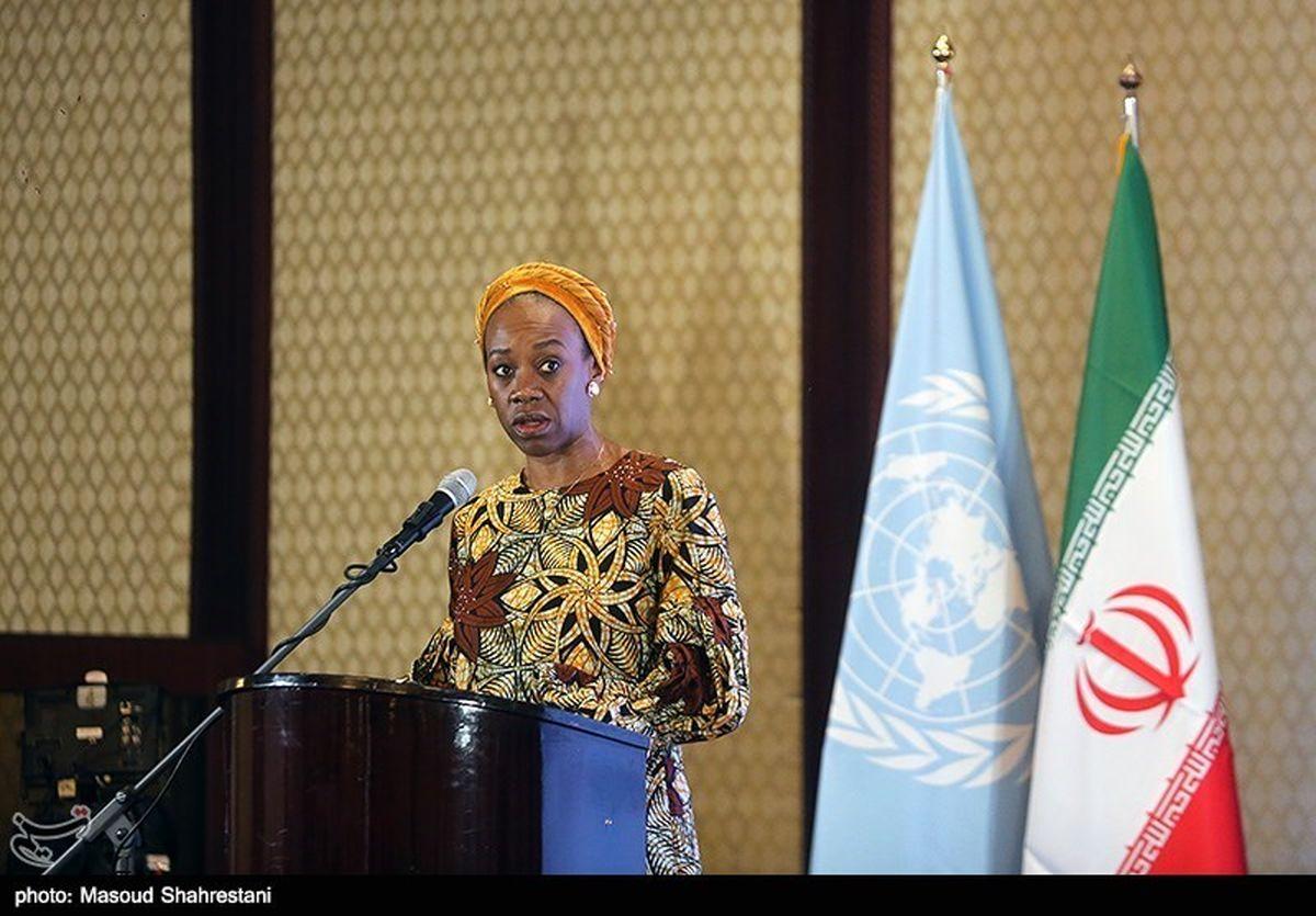 خانم اوگوچی دنیلز از مردم ایران خداحافظی کرد