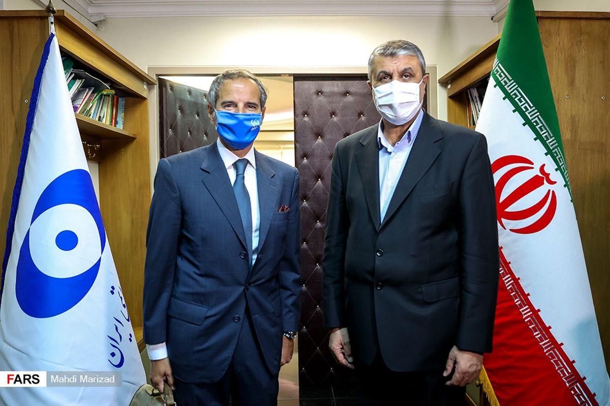 تفاهمات مدیرکل آژانس با رئیس سازمان انرژی اتمی ایران