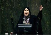 دعوای شدید در مجلس بر سر نطق یک نماینده زن