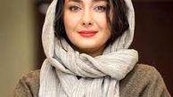 عکس لورفته از هانیه توسلی و آقای بازیگر در خارج+عکس