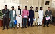 آزادی ۷ ملوان ایرانی از زندان پاکستان