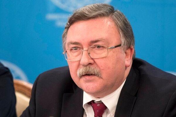 میخائیل اولیانوف:تحریم های جدید ایران در این حال غیر اخلاقی است