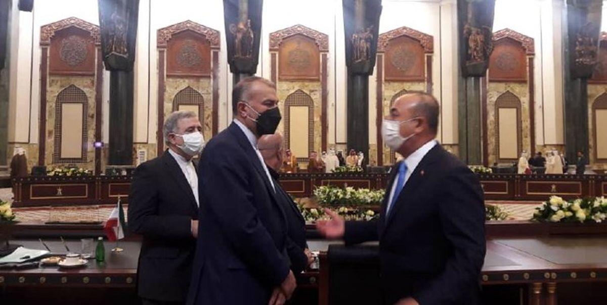 گفتوگوی امیرعبداللهیان و همتای ترکیهای در حاشیه نشست بغداد