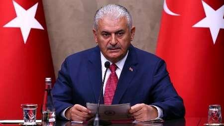 نخست وزیر ترکیه: اتحاد با آمریکا در صورت ارسال سلاح به تروریست ها ادامه نخواهد یافت