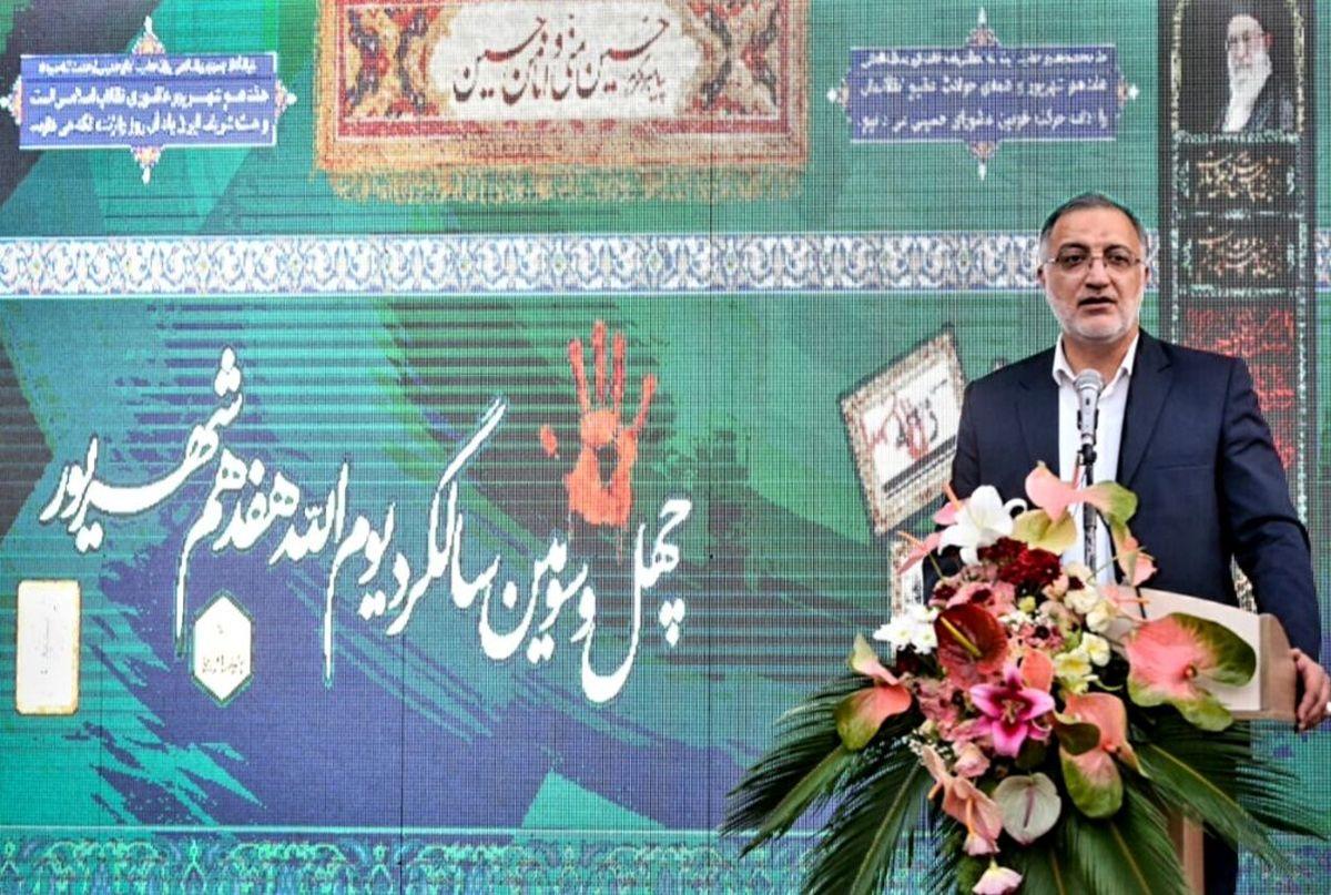 زاکانی: بزرگترین دشمنی با آمریکا ساختن ایران اسلامی است