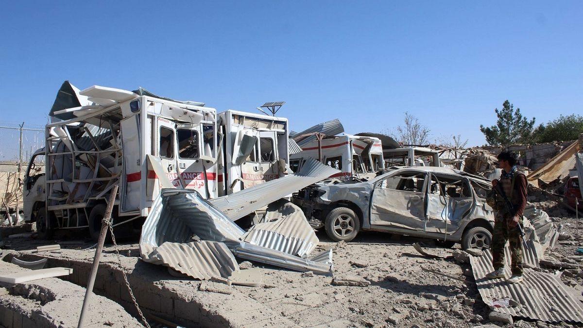 حمله هواپیماهای بدون سرنشین آمریکا به مواضع داعش در افغانستان