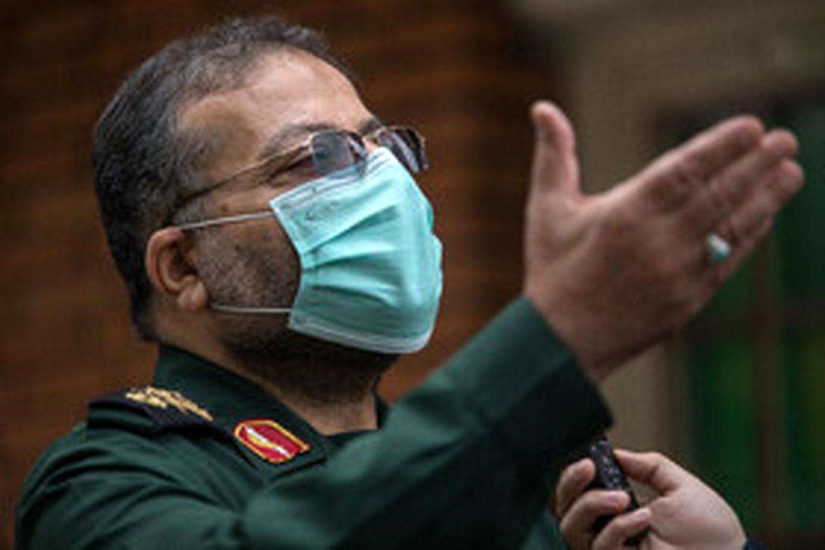رئیس سازمان بسیج: در پیک چهارم کرونا در کنار کادر درمان هستیم