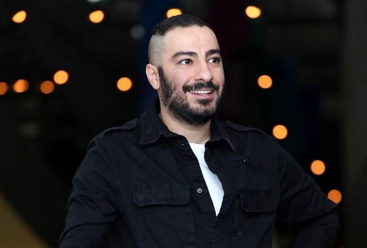 استایل خبرساز نوید محمدزاده در جشنواره فجر +عکس جنجالی