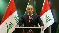 تشکر ویژه رییس جمهوری عراق از ایران در جشن پیروزی بر داعش