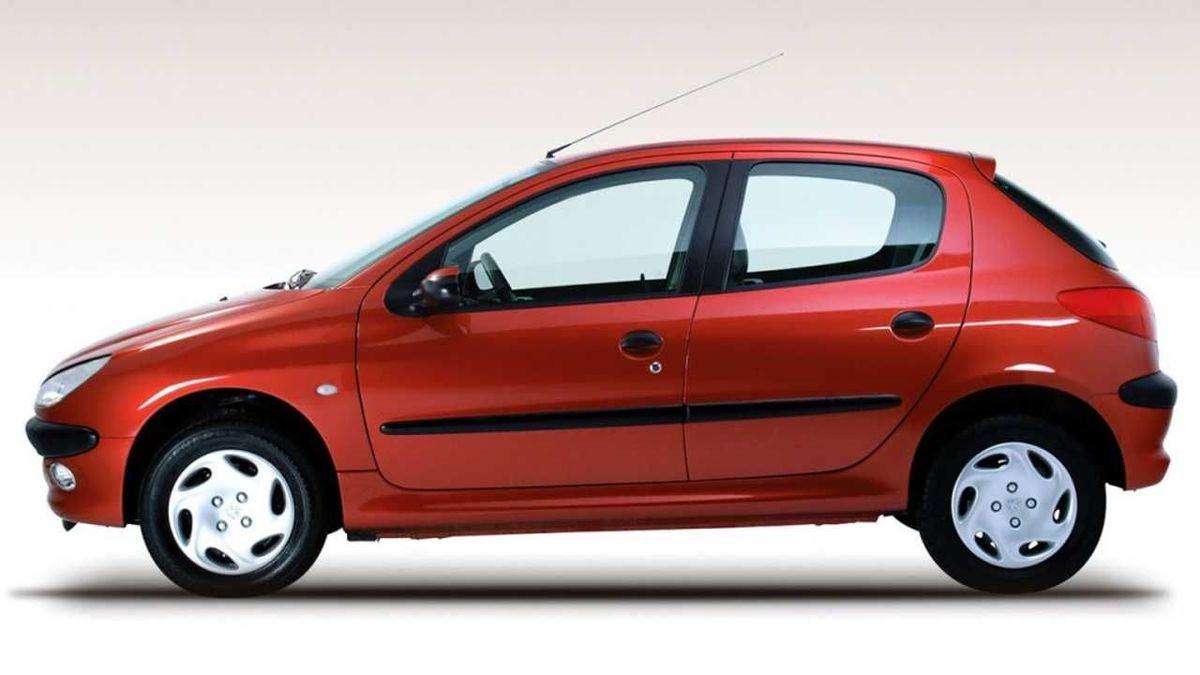 قیمت انواع خودرو امروز؛ قیمت پژو 206 امروز چند؟