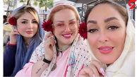 عکس جدید بهاره رهنما در کنار نیوشا ضیغمی و الهام حمیدی