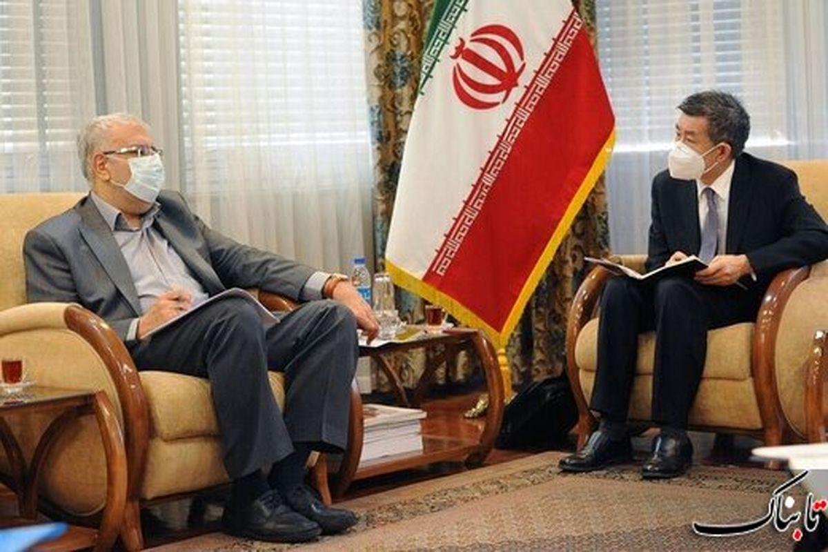 همکاریهای نفتی ایران و چین افزایش مییابد