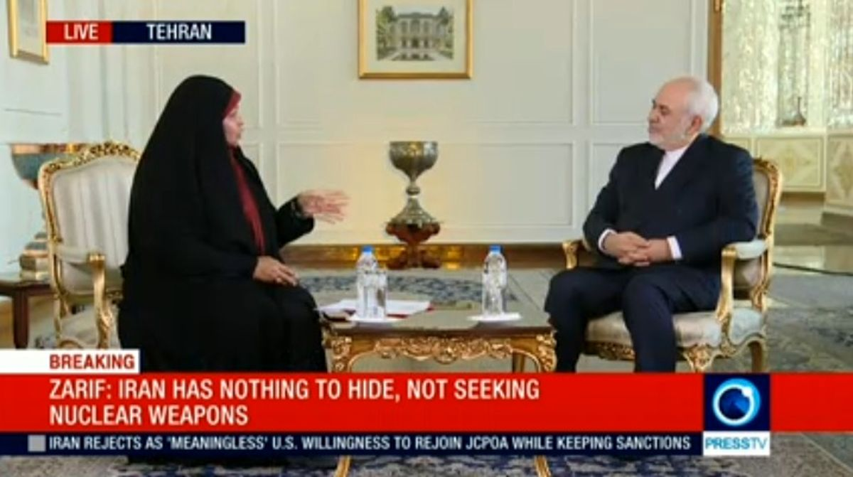 ظریف: مذاکرات احتمالی شامل هیچ تغییری در توافق هسته ای نخواهد بود