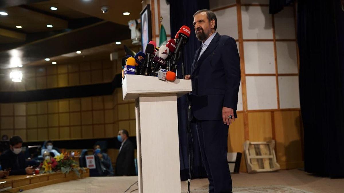 محسن رضایی: میخواهم ظرف ۸ سال حداقل ۲۰ سال ایران را پیش ببرم