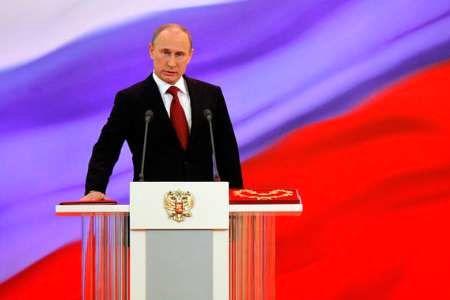پوتین برای چهارمین بار سوگند ریاست جمهوری یاد کرد