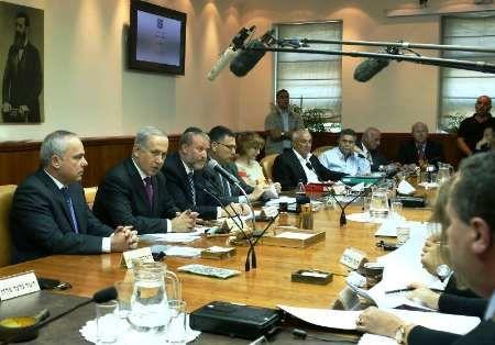 کابینه رژیم صهیونیستی در پناهگاه برگزار می شود