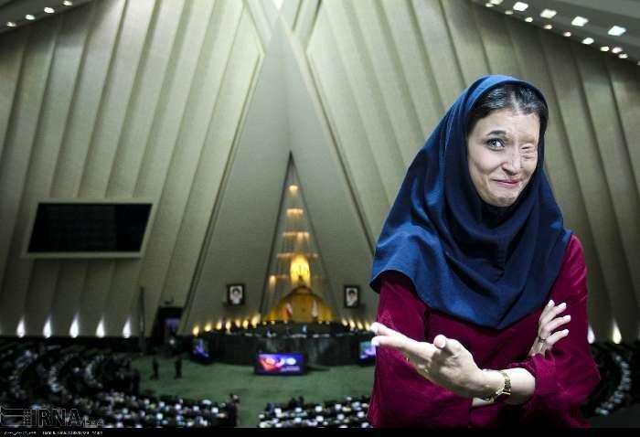 گزارش تصویری/ قربانیان اسیدپاشی در مجلس