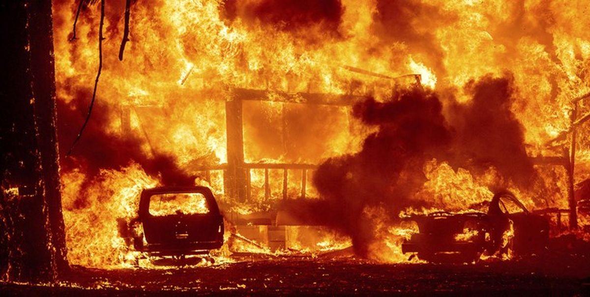 جهنم در کالیفرنیا؛ بایدن وضعیت فاجعه اعلام کرد