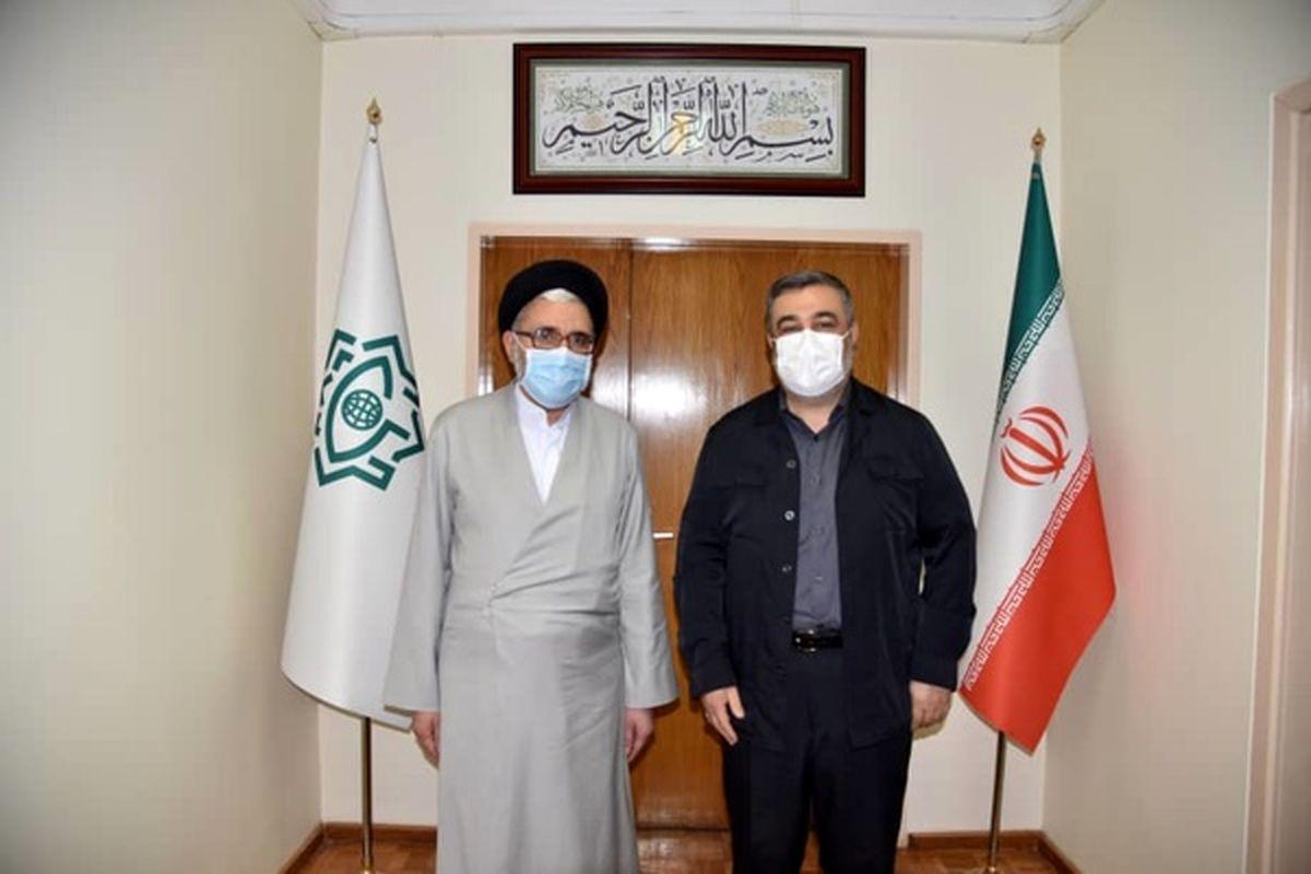 فرمانده ناجا با وزیر اطلاعات دیدار کرد