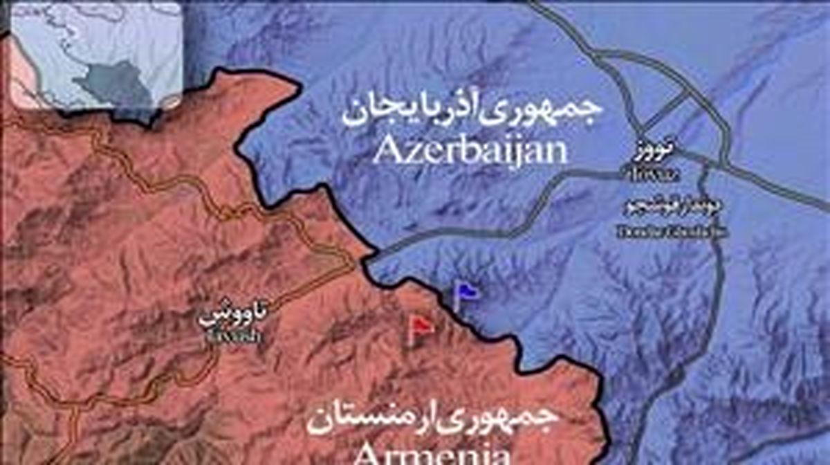 درخواست قرهباغ از ایران، ارمنستان، روسیه