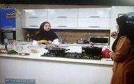سوتی عجیب خانم مجری تلویزیون روی آنتن زنده! +تصاویر