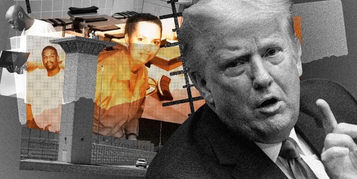 خون کردن ترامپ در آستانه تحلیف بایدن