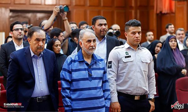 نجفی در سومین جلسه رسیدگی به پرونده قتل میترا استاد