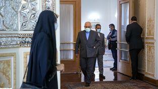 دکتر ظریف در دیدار با نماینده دومای روسیه|گزارش تصویری