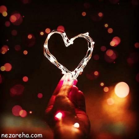 عکس پروفایل عاشقانه؛قلب مایع
