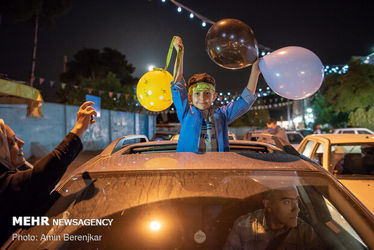 کاروان های جشن خیابانی ولادت امام زمان(عج)