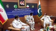 اولین دیدار نظامی فرمانده جدید نیروی دریایی ارتش با یک مقام خارجی