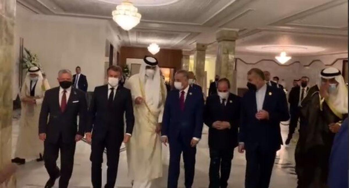 گفتوگوی امیرعبداللهیان با رئیسجمهور مصر در حاشیه نشست بغداد
