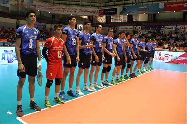 والیبال قهرمانی نوجوانان آسیا/ ایران 3 – هند صفر؛ نوجوانان ایران جهانی شدند