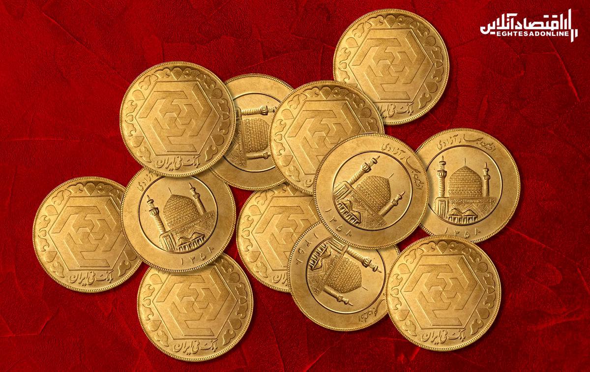 ریزش باورنکردنی قیمت سکه